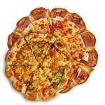 2 pizzas — Foto Stock