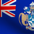 Flag of Tristan da Cunha - Stock Photo