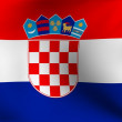 Flag of Croatia - Stock fotografie