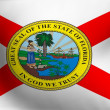 Flag of Florida, USA — Stock Photo