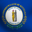 Flag of Kentucky, USA - Foto Stock