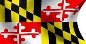 Bandiera del maryland, Stati Uniti — Foto Stock