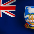 Flag of Falkland Islands — Stock Photo #4295500