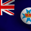 Flag of Queensland, Australia — Stock Photo