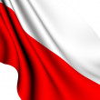 Flag of Poland - Stock Photo