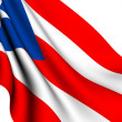 Stock Photo: Flag of Puerto Rico