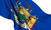 Flag of New York, USA — Stock Photo