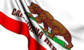 Bandiera della california, usa — Foto Stock