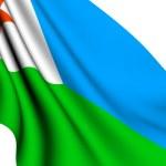 Flag of Djibouti — Stock Photo #4416320