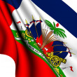 Flag of Haiti — Stock Photo
