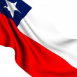 Flag of Chile - Stock Photo