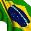 Flag of Brasilia — Stock Photo