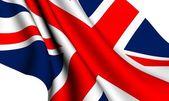 Flag of UK — Stock Photo