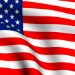 Flag of USA — Stock Photo #4465608