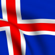 Flag of Iceland — Stock Photo #4465902