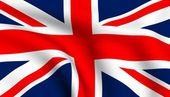 Vlag van Verenigd Koninkrijk — Stockfoto