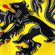 Stock Photo: Flag of Flanders