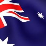 Flag of Australia — Stock Photo #4486488