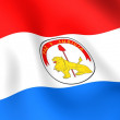 Flag of Paraguay — Stock Photo #4493693