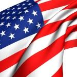 Flag of USA — Stock Photo #4605726