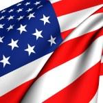 Flag of USA — Stock Photo #4653573