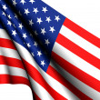 Stock Photo: flag of usa