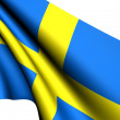 Flag of Sweden — Stock Photo #4666775