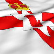 Stock Photo: Flag of Northern Ireland
