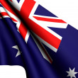 Flag of Australia — Stock Photo