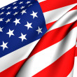flag of usa — Stock Photo #4733106