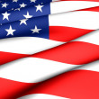 Flagge der Usa — Stockfoto #4756911
