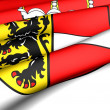 Flag of Salzburg — Stock Photo