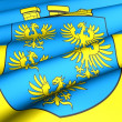 Flag of Lower Austria — Stock Photo