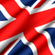 Flag of UK — Stock Photo #4796475