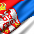 Flag of Serbia — Stock Photo #4796846