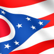 Stock Photo: Flag of Ohio, USA.