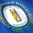 Stock Photo: Flag of Kentucky, USA.