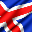 Flag of Iceland — Stock Photo #4797651