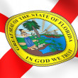 Flag of Florida, USA. — Stock Photo