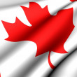 Flag of Canada — Stock Photo #4797845
