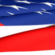 Flag of USA — Stockfoto #4821152