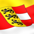 Flag of Carinthia — Stock Photo