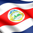 Flag of Costa Rica — Lizenzfreies Foto