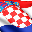 Flag of Croatia — Stock Photo #4876104