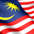Flag of Malaysia — Stock Photo #4876532
