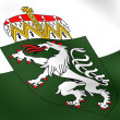Stock Photo: Flag of Styria