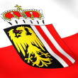 Flag of Upper Austria — Stock Photo
