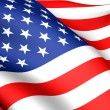 Flag of USA — Stock Photo #4877121