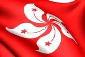 Flag of Hong Kong — Stock Photo