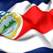 Flag of Costa Rica - Stock Photo